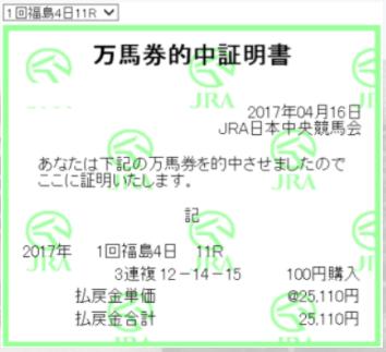 救済馬券セオリー・万馬券的中証明書25110円.PNG